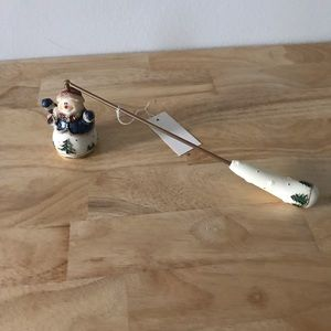 Snowman candle snuffer